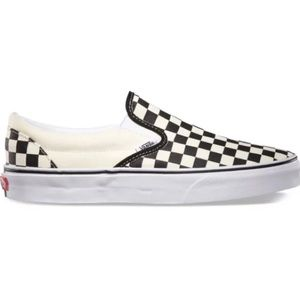 VANS Womans Size 6.5 Checkerboard Slip on Sneakers